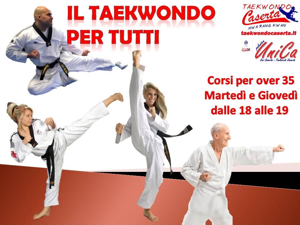 Corsi di Taekwondo per over 35
